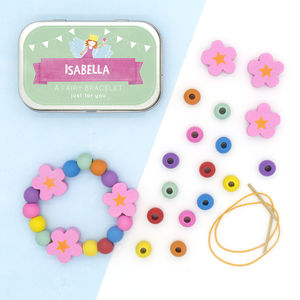 Personalised Fairy Bracelet Gift Kit - shop by price