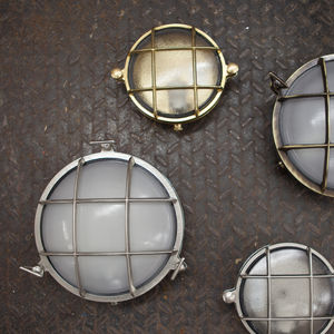 Round Bulkhead Lights For Indoors Or Outdoors - lights & lanterns