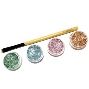 Glitter Eyeshadow Set 'Perfect Pastels' - make-up