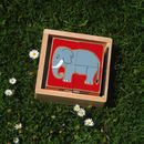 World Animal Block Puzzle Toy