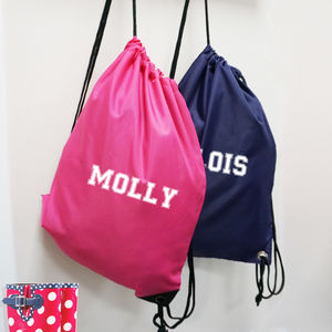 Children's Personalised Gym/Pe Bag