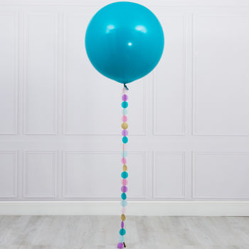 Mermaid Giant Circle Tail Balloon