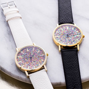 Glitter Watch - jewellery gifts for friends