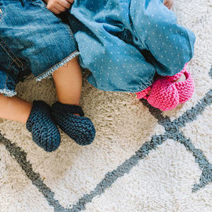 Knit Your Own Baby Bonny Booties Kit