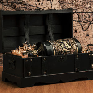 13 Year Aged Rum Gift Chest With Personalised Scroll - tops & t-shirts