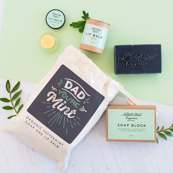 Personalised Organic Skin Care Kit For Dad