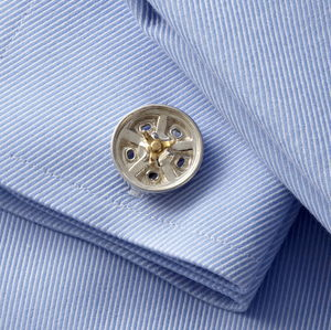 Indy Roadster Wheel Cufflinks