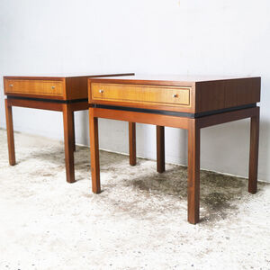 1960's Mid Century Bedside Tables By Greaves And Thomas