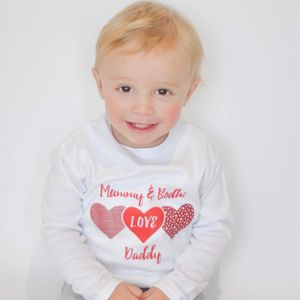 Mummy And Baby Love Daddy T Shirt