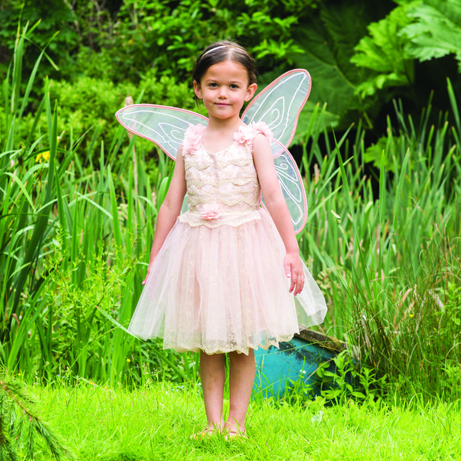 Girl s vintage fairy dress up costume by time to