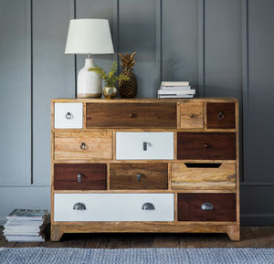 Natural Shoreditch Chest - furniture