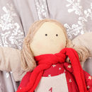 Holly The Angel Hanging Fabric Advent Calendar