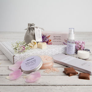 'The Pamper Box' Letterbox Gift Set - 40th birthday gifts