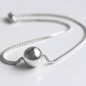 Sterling Silver Ori Orb Necklace