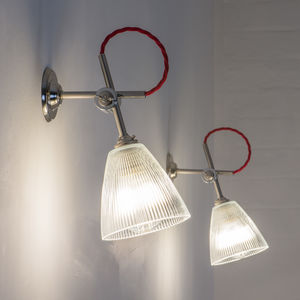 Prismatic Vintage Wall Light Mk2 - wall lights