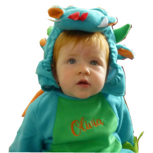 Baby's Dragon Dress Up Costume Personalised - halloween