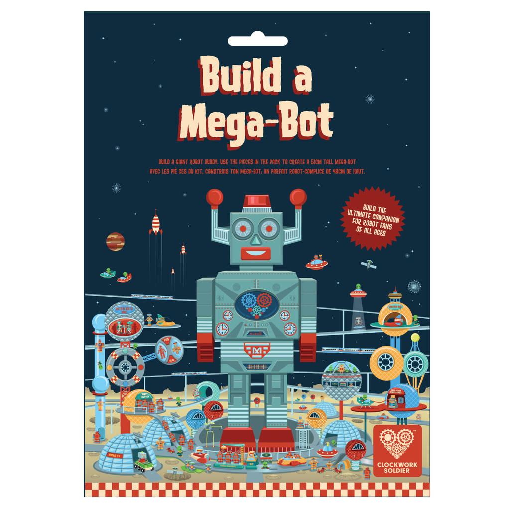 Build A Mega Bot Giant Robot