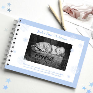 Baby's First Christmas Keepsake Book