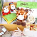 Unisex Pamper Hamper For Mother And Baby, Safari Animal