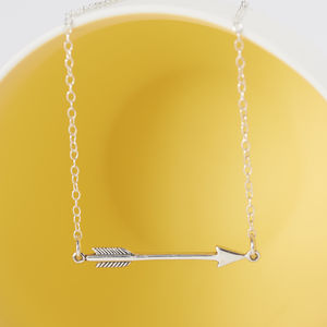 Sterling Silver Arrow Necklace - necklaces & pendants