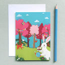 Easter Bunny Cards, Rabbit Easter Card