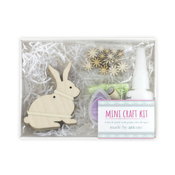 Bunny Rabbit Wooden Craft Kit