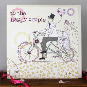 Happy Couple Card - wedding cards & wrap