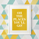 Personalised 'Your Quote' Print