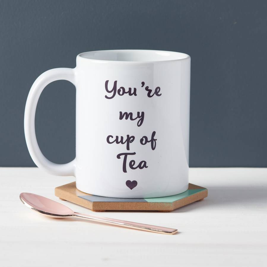 you 39 re my cup of tea mug by owl otter. Black Bedroom Furniture Sets. Home Design Ideas