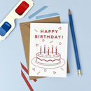 3D Birthday Card