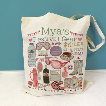 Personalised Festival Survival Bag