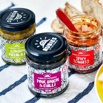 Rubies In The Rubble Christmas Relish Trio