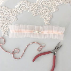 Wedding Garter In Tulle - women's fashion