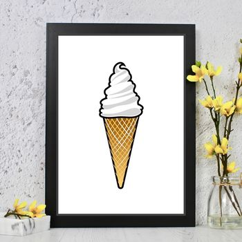 Ice Cream And Lolly Prints