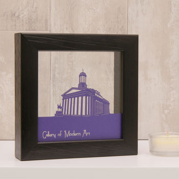 Glasgow Gallery of Modern Art in Matt Purple