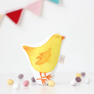 Easter Chick Baby Rattle - for babies & children