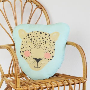 Children's Leopard Cushion - cushions