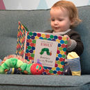Personalised Hungry Caterpillar Book And Toy Gift Set