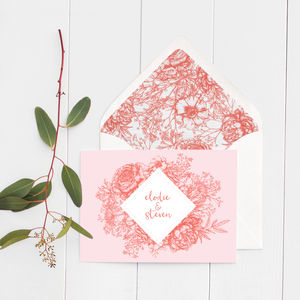 Wildflower Wedding Invitations - what's new
