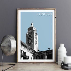 London Print Oxo Tower