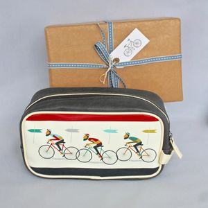 Bicycle Wash Bag ~ Boxed And Gift Wrapped - make-up & wash bags