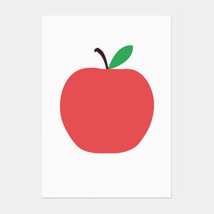 Red Apple Postcard - shop by category