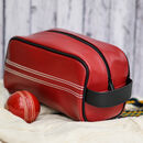 Cricket Sports Ball Wash Bag