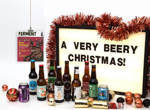 Mixed Case Of Eight Craft Beers And Ferment Magazine - christmas tipple edit