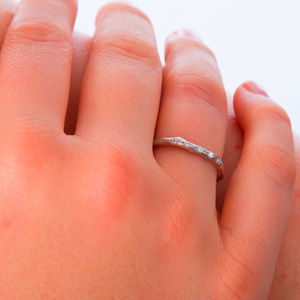 Silver And Personalised Wedding Rings Notonthehighstreet Com