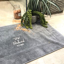 Personalised Get Naked Bath Mat