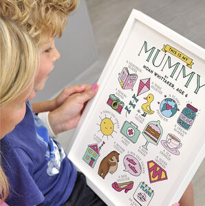 This Is My Mummy Personalised Print