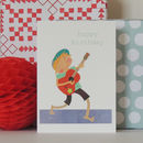 Guitarist Birthday Card