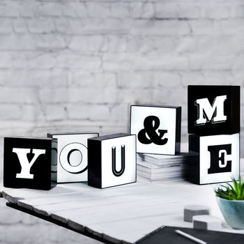LED Alphabet Box Lights