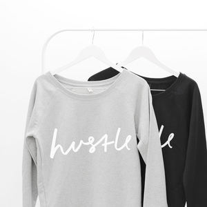 Hustle Oversized Women's Sweater